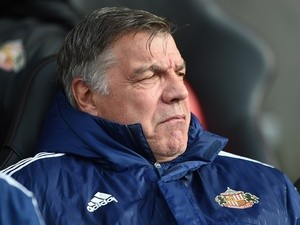 Sam Allardyce gestures with his face during the Premier League match between Southampton and Sunderland at St Mary's Stadium on March 5, 2016