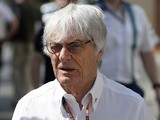 Formula 1 boss Bernie Ecclestone walks in the paddock before the first practice session at the Yas Marina circuit in Abu Dhabi on November 27, 2015