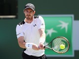 Andy Murray in action at Indian Wells on March 14, 2016
