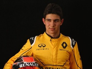 Esteban Ocon of Renault Sport F1 during previews to the Australian Grand Prix at Albert Park on March 17, 2016