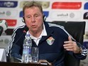 Harry Redknapp speaks at a press conference on March 22, 2016
