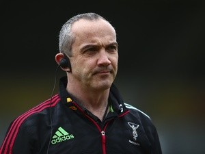 Conor O'Shea, director of rugby for Harlequins, on March 19, 2016