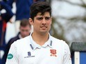 Alastair Cook at an Essex CCC photocall on April 7, 2016