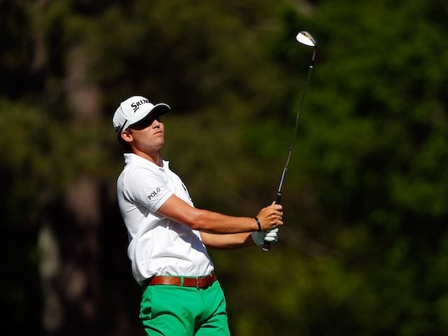 Smylie Kaufman in action during round three of The Masters on April 9, 2016