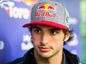 Carlos Sainz of Toro Rosso during previews to the Formula One Grand Prix of China at Shanghai International Circuit on April 14, 2016
