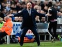 Rafael Benitez during the Premier League match between Newcastle United and Swansea City on April 16, 2016