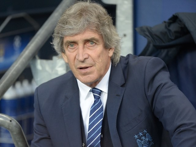 Manuel Pellegrini watches on during the Champions League quarter-final between Manchester City and Paris Saint-Germain on April 12, 2016