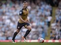 Jack 'Jacky' Wilshere in action during the Premier League game between Manchester City and Arsenal on May 8, 2016