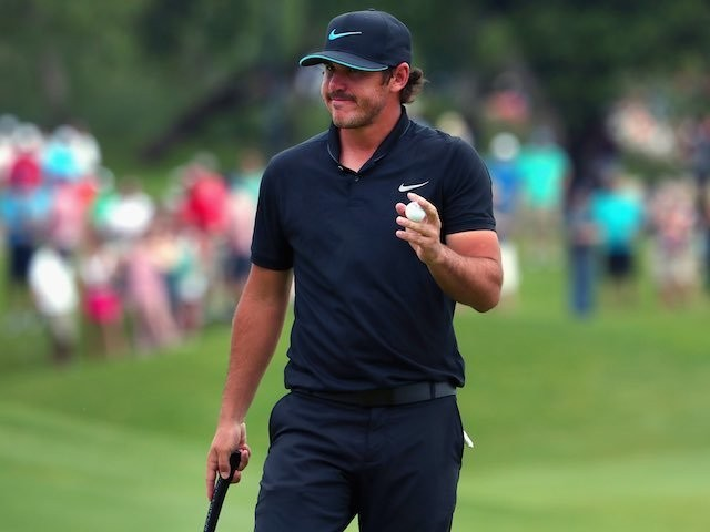 Brooks Koepka in action during round three of the AT&T Bryan Nelson on May 21, 2016