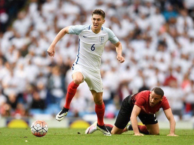 Big John Stones in action during the international friendly between England and Turkey on May 22, 2016