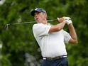 Matt Kuchar watches his tee shot on the fourth hole during the third round of The Memorial Tournament at Muirfield Village Golf Club on June 4, 2016