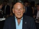 Stirling Moss attends the Mark Webber book launch at the Ham Yard Hotel on September 9, 2015