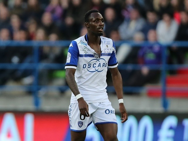 Bastia midfielder Seko Fofana on April 30, 2016