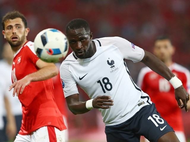 Moussa Sissoko in action during the Euro 2016 Group A match between Switzerland and France on June 19, 2016