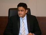Anil Kumble, ICC Cricket Committee Chairman attends the ICC board meeting at the ICC headquarters on April 22, 2016