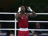 Joshua Buatsi in action at the Rio Olympics on August 14, 2016