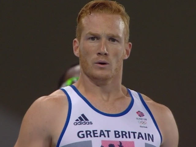Greg Rutherford in action at the Rio Olympics on August 13, 2016