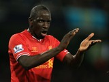 Mamadou Sakho in action for Liverpool in December 2013