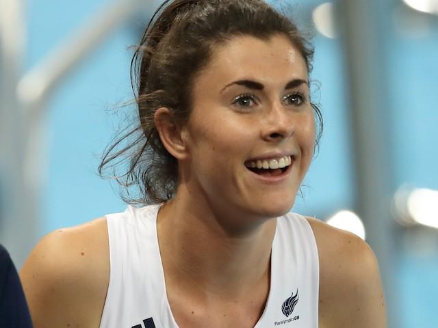 ParalympicsGB athlete Olivia Breen
