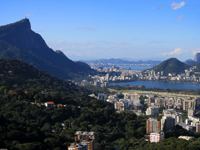 A general shot of Rio de Janeiro, host of the 2016 Olympic and Paralympic Games