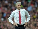Arsene Wenger strikes a pose on September 24, 2016