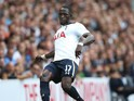 Moussa Sissoko in action for Tottenham during the Premier League match between Tottenham Hotspur and Sunderland at White Hart Lane on September 18, 2016