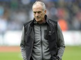 Swansea manager Francesco Guidolin looking shifty on September 11, 2016