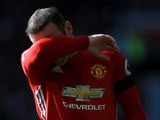 Manchester United captain Wayne Rooney despairs as his side drop yet more points during their 1-1 draw with Stoke City at Old Trafford on October 2, 2016