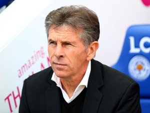 Southampton manager Claude Puel before his side's Premier League match against Leicester at the King Power Stadium on October 2, 2016