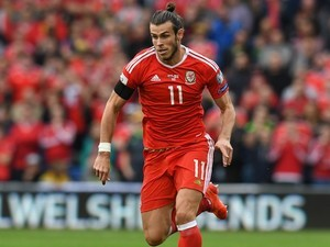Gareth Bale in action during the World Cup qualifier between Wales and Georgia on October 9, 2016