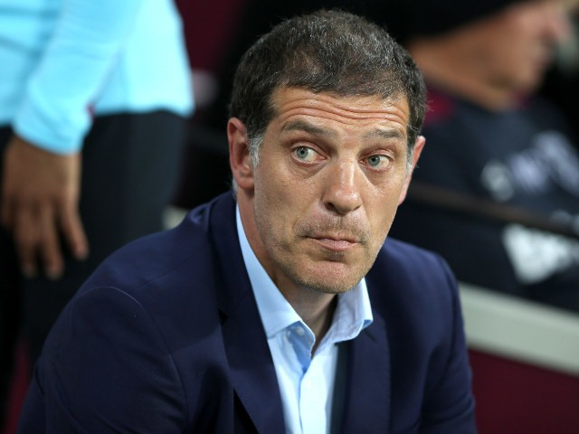 West Ham manager Slaven Bilic during the EFL Cup (3rd Round) match between West Ham United and Accrington Stanley at the London Stadium on September 21, 2016