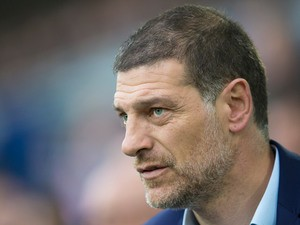 West Ham United manager Slaven Bilic on the touchline during his side's Premier League clash with Everton at Goodison Park on October 30, 2016