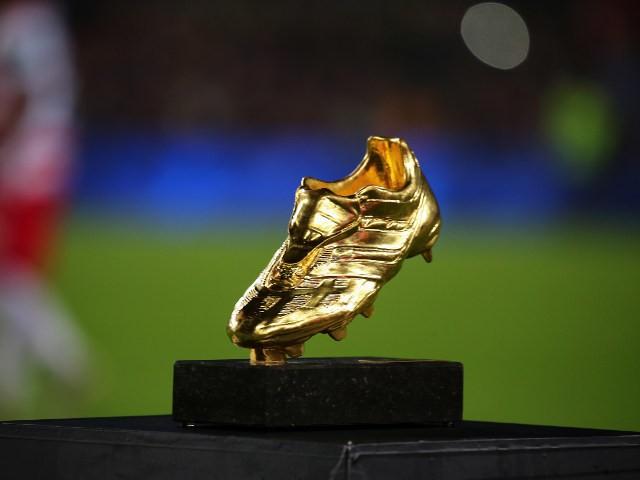 A general shot of the European Golden Boot