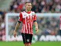 Jordy Clasie of Southampton in action during his side's Premier League clash with Chelsea at St Mary's on October 30, 2016