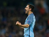 Ilkay Gundogan of Manchester City in action during his side's Champions League clash with Barcelona at the Etihad Stadium on November 1, 2016