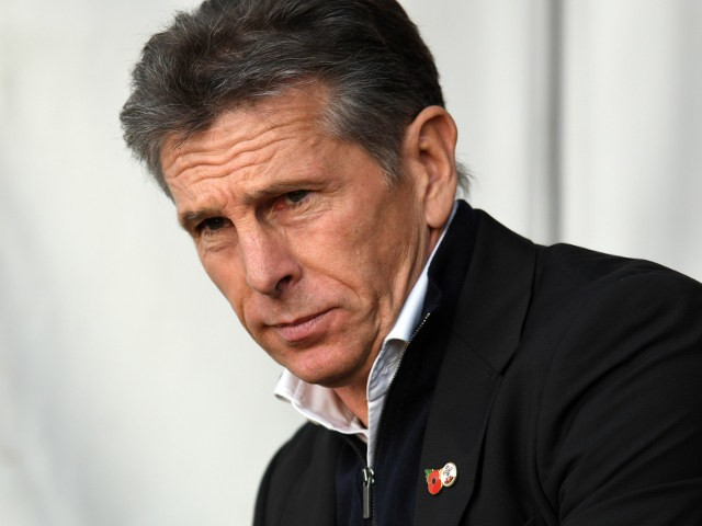 Southampton manager Claude Puel before his side's Premier League match against Chelsea at St Mary's Stadium on October 30, 2016
