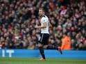 Tottenham Hotspur striker Harry Kane in action during the North London derby at the Emirates Stadium on November 6, 2016