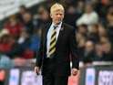 Scotland manager Gordon Strachan on the touchline during his side's World Cup qualifier against England at Wembley on November 11, 2016