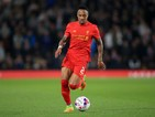 Liverpool full-back Nathaniel Clyne in action during his side's EFL Cup clash with Derby County at the iPro Stadium on September 20, 2016
