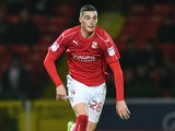 Swindon Town's Lloyd Jones on the touchline during the FA Cup clash with Eastleigh on November 15, 2016