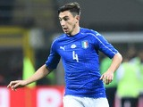 Italy defender Matteo Darmian in action for his side during the international friendly with Germany in Milan on November 15, 2016
