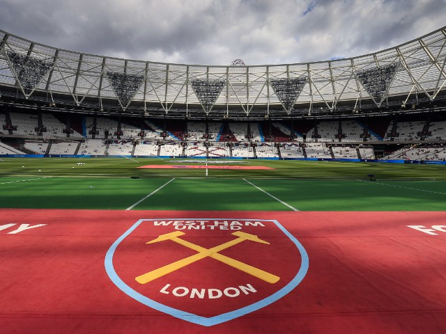 A general shot of West Ham United's London Stadium
