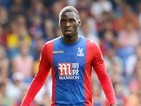 Christian Benteke in action for Crystal Palace on August 27, 2016