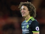 Chelsea defender David Luiz during the Premier League clash with Middlesbrough at the Riverside Stadium on November 20, 2016