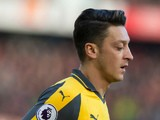 Arsenal midfielder Mesut Ozil in action during the Premier League clash with Manchester United at Old Trafford on November 19, 2016
