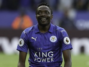 Ahmed Musa in action for Leicester City on August 20, 2016