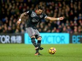 Jose Fonte in action during the Premier League game between Crystal Palace and Southampton on December 3, 2016