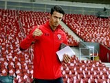 Jose Fonte ahead of the Europa League game between Southampton and Hapoel Be'er Sheva on December 8, 2016