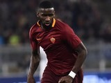 Antonio Rudiger in action during the Serie A game between Roma and Milan on December 12, 2016