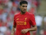 Emre Can in action for Liverpool on August 6, 2016